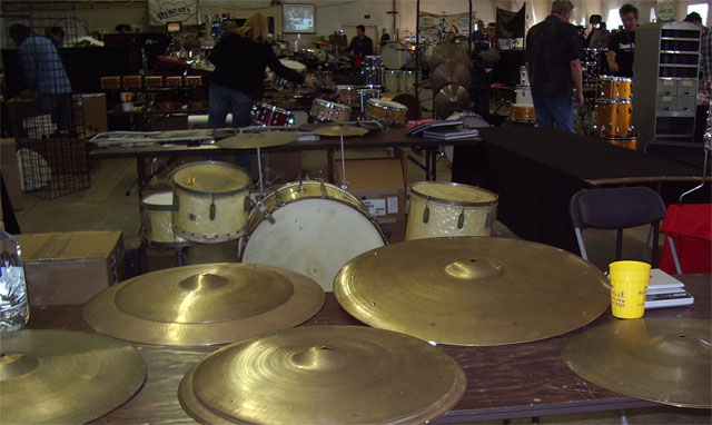 old cymbals